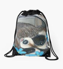 Playful Pedals Drawstring Bag