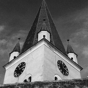 Romanian Works 23 Cisnădie Kirchenburg von Mows