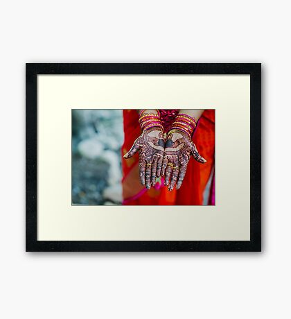 Friendship, Love, and Loyalty Framed Print