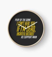 Play of the game - I Can't Heal you If I'm Dead Clock