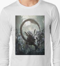 alien versus predator versus marines T-Shirt