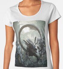 alien versus predator versus marines Women's Premium T-Shirt