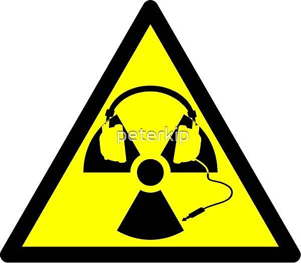 Radioactive Headphones by peterkip