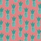 Pineapple Sorbet (pink) by wallpaperfiles