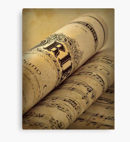 Grieg Piano Concerto Canvas Print