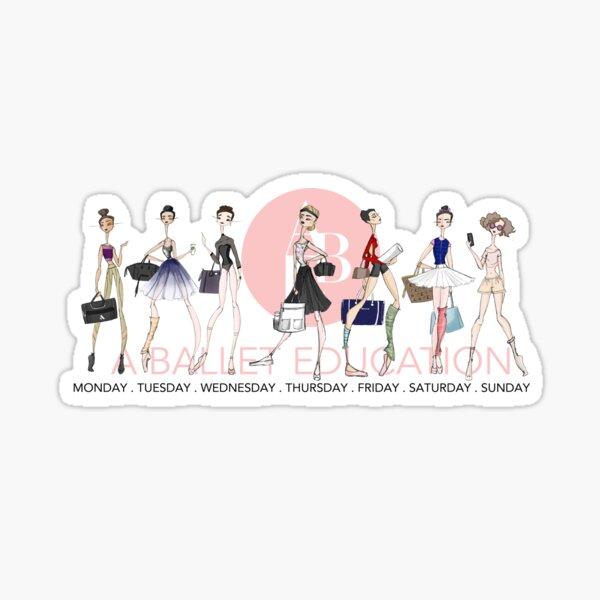 Ballet Style Sticker