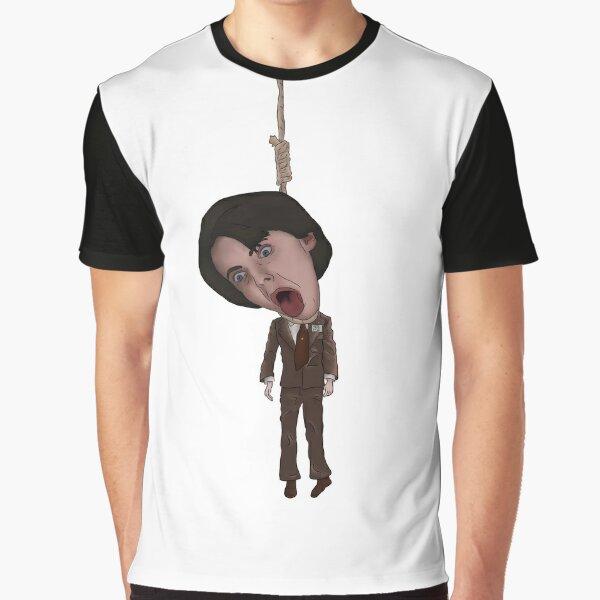 Harold And Maude Inspired Bud Cort Hanging Illustration Graphic T-Shirt