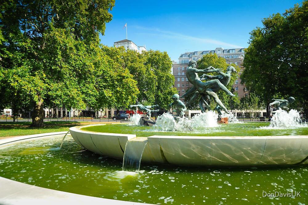 Joy of Life: Fountain Hyde Park London by DonDavisUK