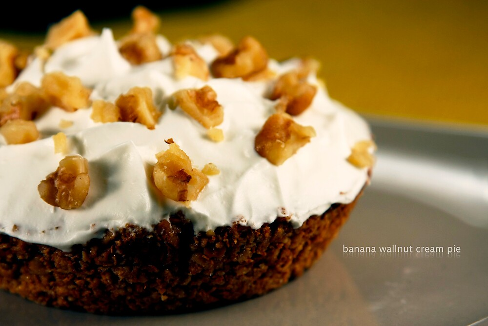 banana wallnut pie by jamie marcelo