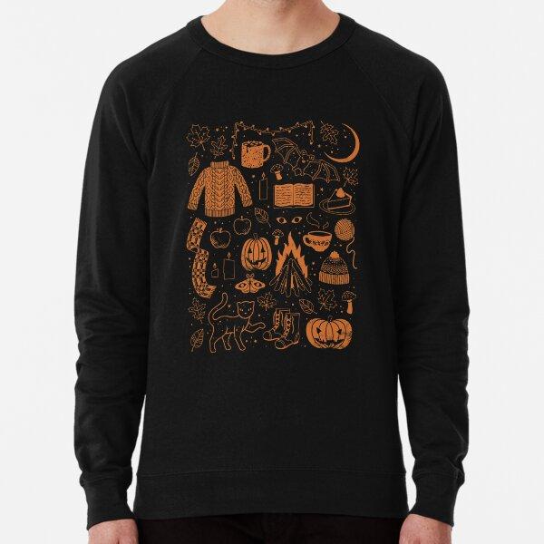 Autumn Nights: Halloween Lightweight Sweatshirt