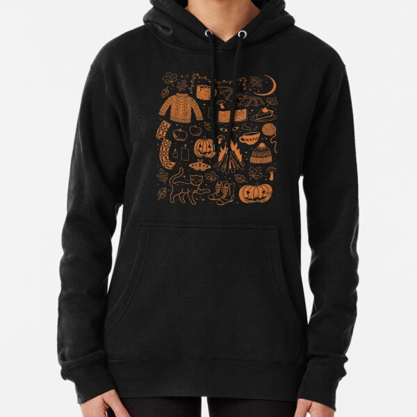 Autumn Nights: Halloween Pullover Hoodie