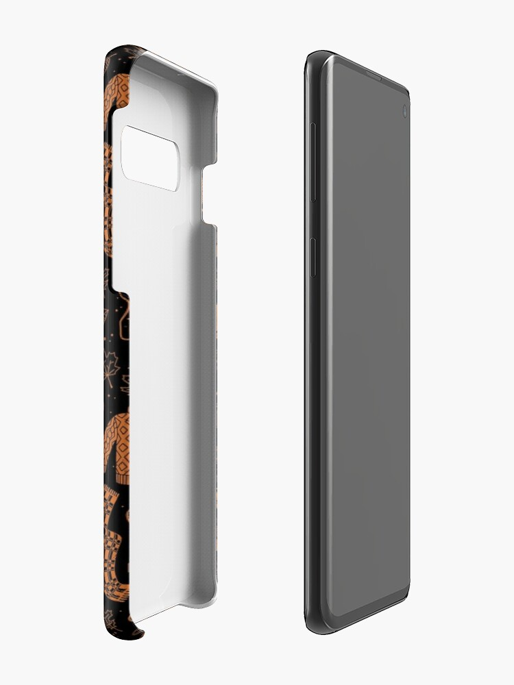 Alternate view of Autumn Nights: Halloween Case & Skin for Samsung Galaxy