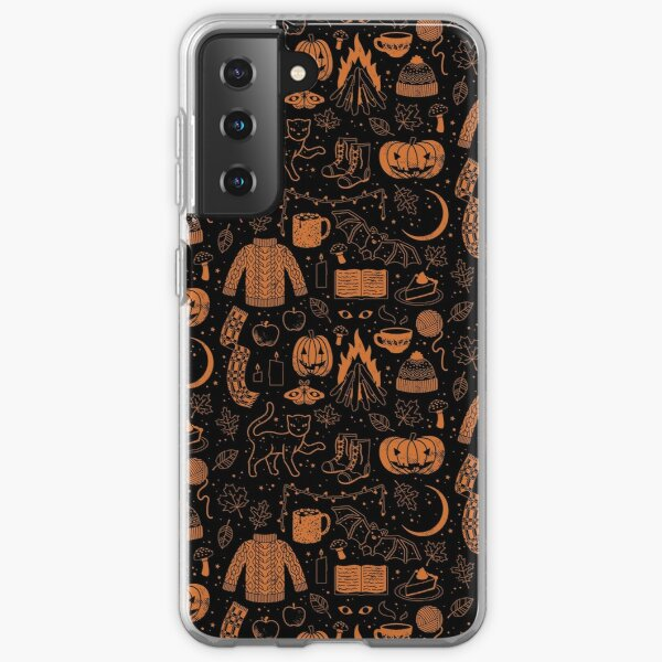 Autumn Nights: Halloween Samsung Galaxy Soft Case