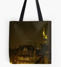 Frankfurt Night Streetscape 2 Tote Bag