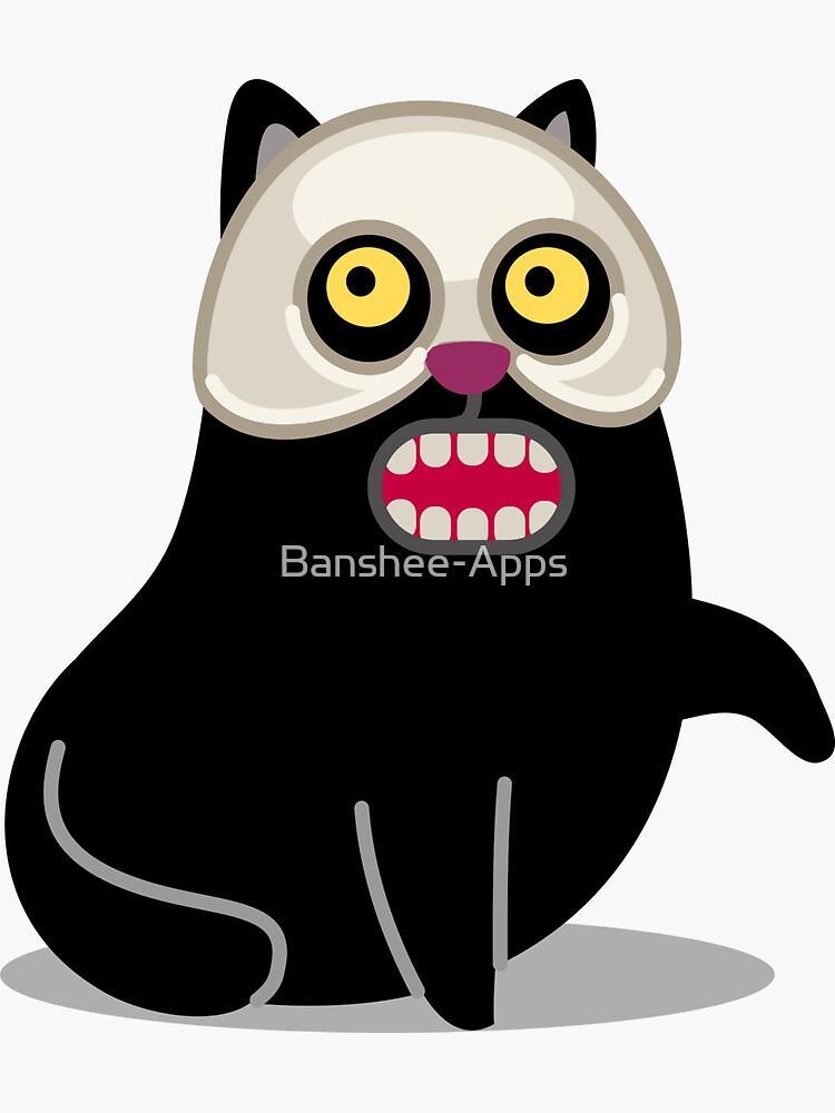 Masquerade Cat tshirt by Banshee-Apps