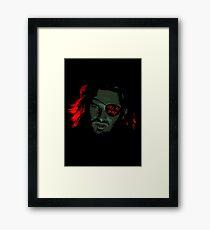 Call me Snake (Escape From New York) Framed Print