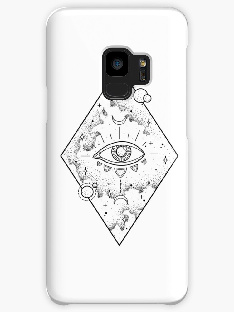 Cosmic Eye Dotwork Cases Skins For Samsung Galaxy By Typelab