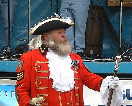 Yarmouth Town Cryer by dubris