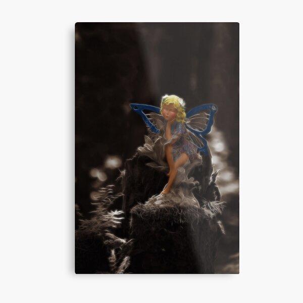 Woodland Fairy Metal Print
