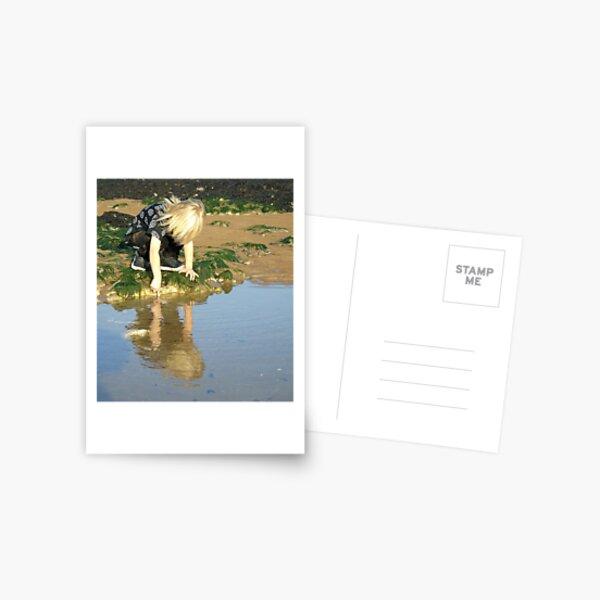 Rock pools Postcard