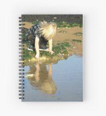 Rock pools Spiral Notebook