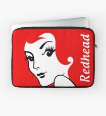 Miss Redhead (text) [iPad / Phone cases / Prints / Clothing / Decor] Laptop Sleeve