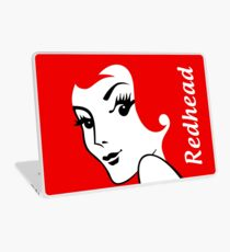 Miss Redhead (text) [iPad / Phone cases / Prints / Clothing / Decor] Laptop Skin