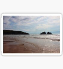 Holywell Bay, Cornwall. Sticker