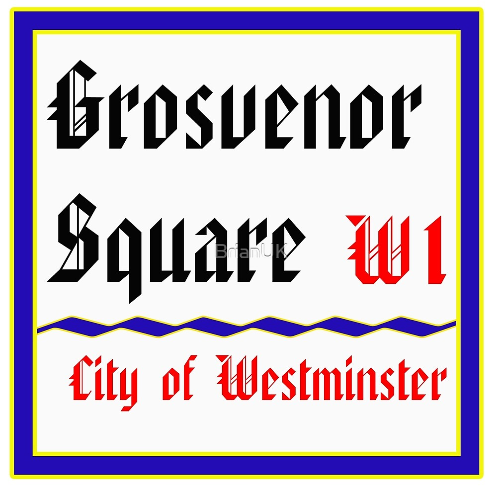 Grosvenor Square by BrianUK