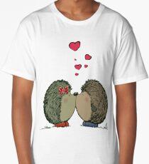 Hedgehogs in love Long T-Shirt