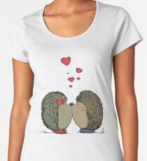 Hedgehogs in love Women's Premium T-Shirt