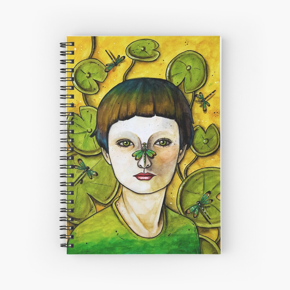 The Dragonfly Whisperer Spiral Notebook