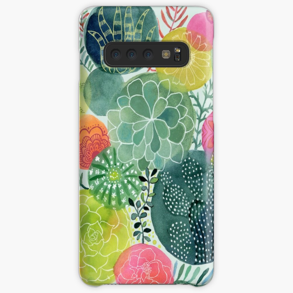 Succulent Circles Cases & Skins for Samsung Galaxy