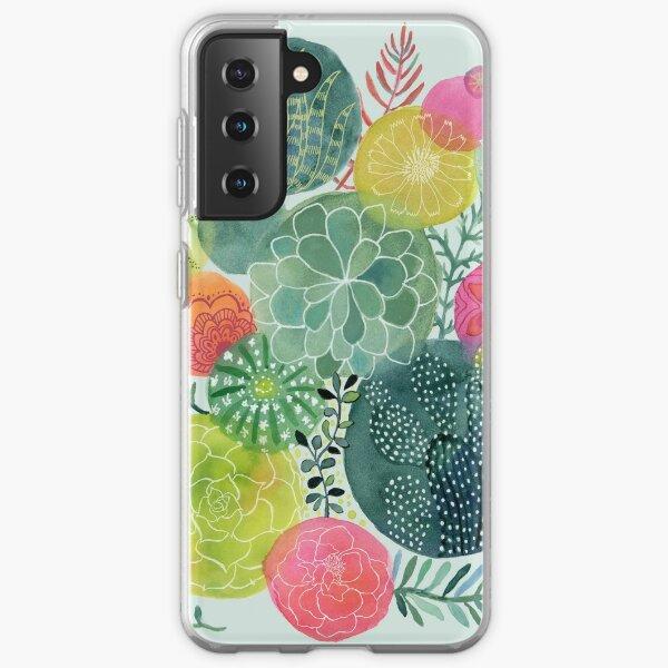 Succulent Circles Samsung Galaxy Soft Case