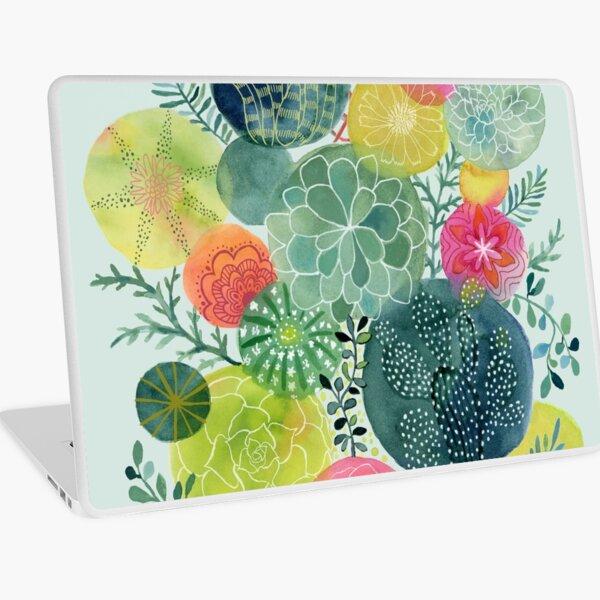 Succulent Circles Laptop Skin