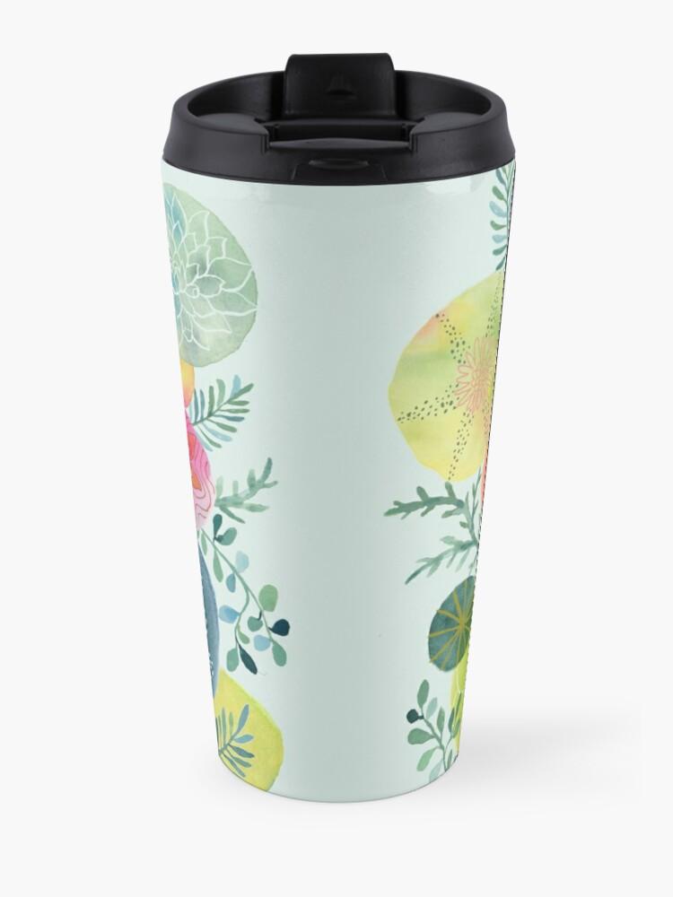 Alternate view of Succulent Circles Travel Mug