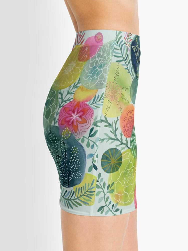 Alternate view of Succulent Circles Mini Skirt