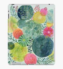 Succulent Circles iPad Case/Skin