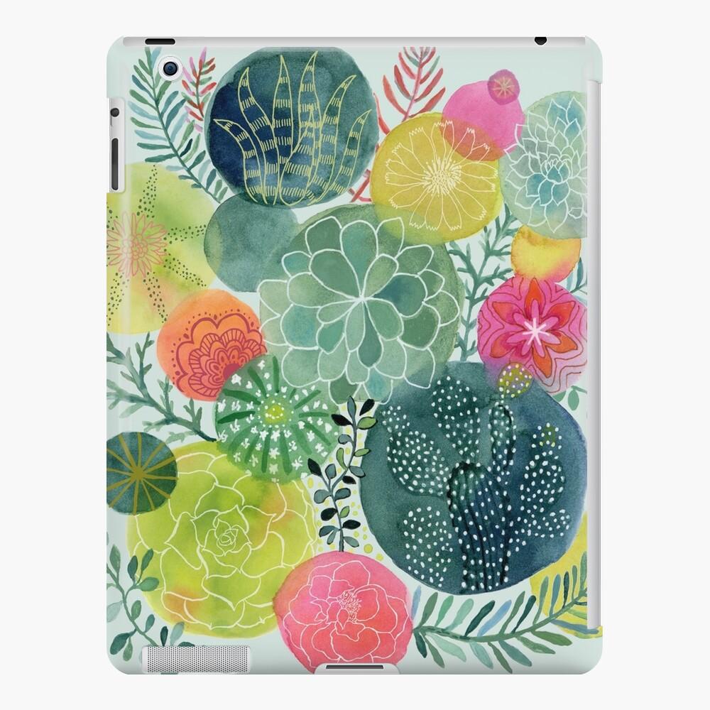 Succulent Circles iPad Case & Skin