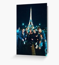 why don't we in paris Greeting Card
