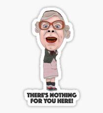 The League of Gentlemen Inspired Illustration Tubbs Sticker