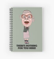 The League of Gentlemen Inspired Illustration Tubbs Spiral Notebook