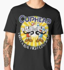 Cuphead & Mugman Men's Premium T-Shirt