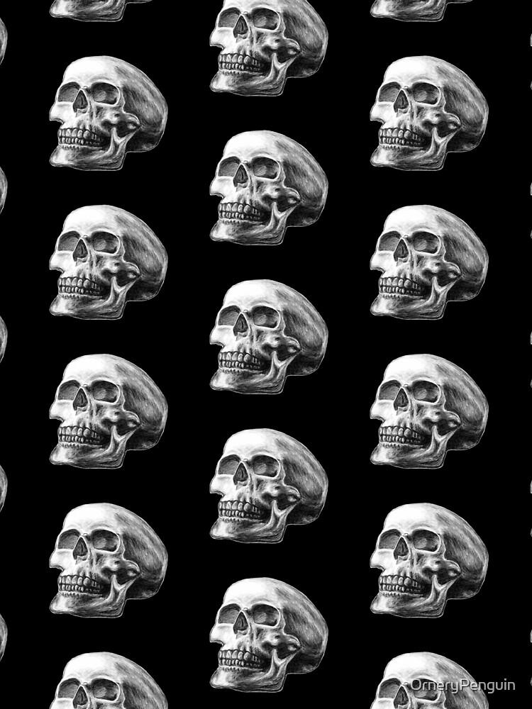 Sketchy Skull by OrneryPenguin