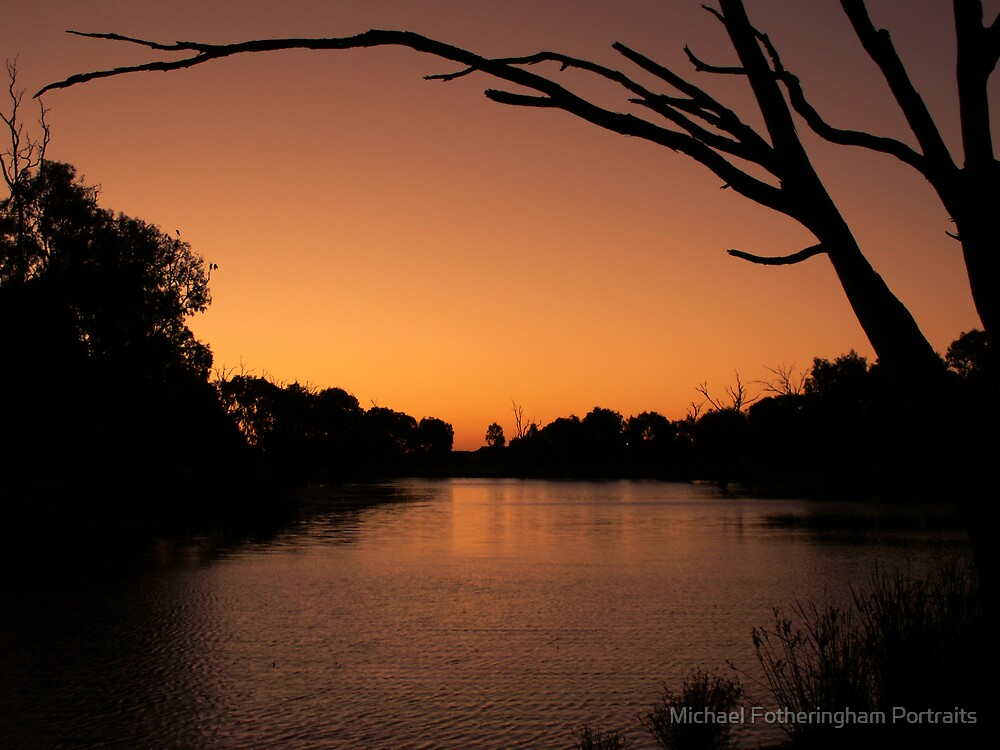 Horsham sunset by Michael Fotheringham Portraits