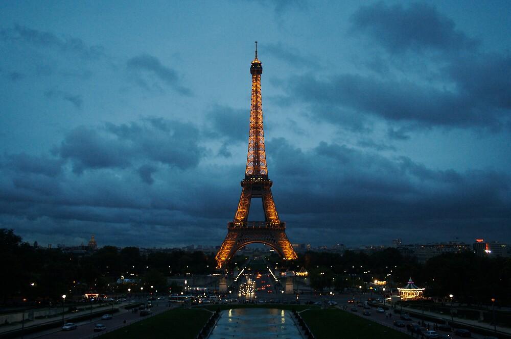 Eiffel Tower by Chris van Raay