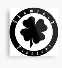 Irish Shamrock Pioneers Metal Print