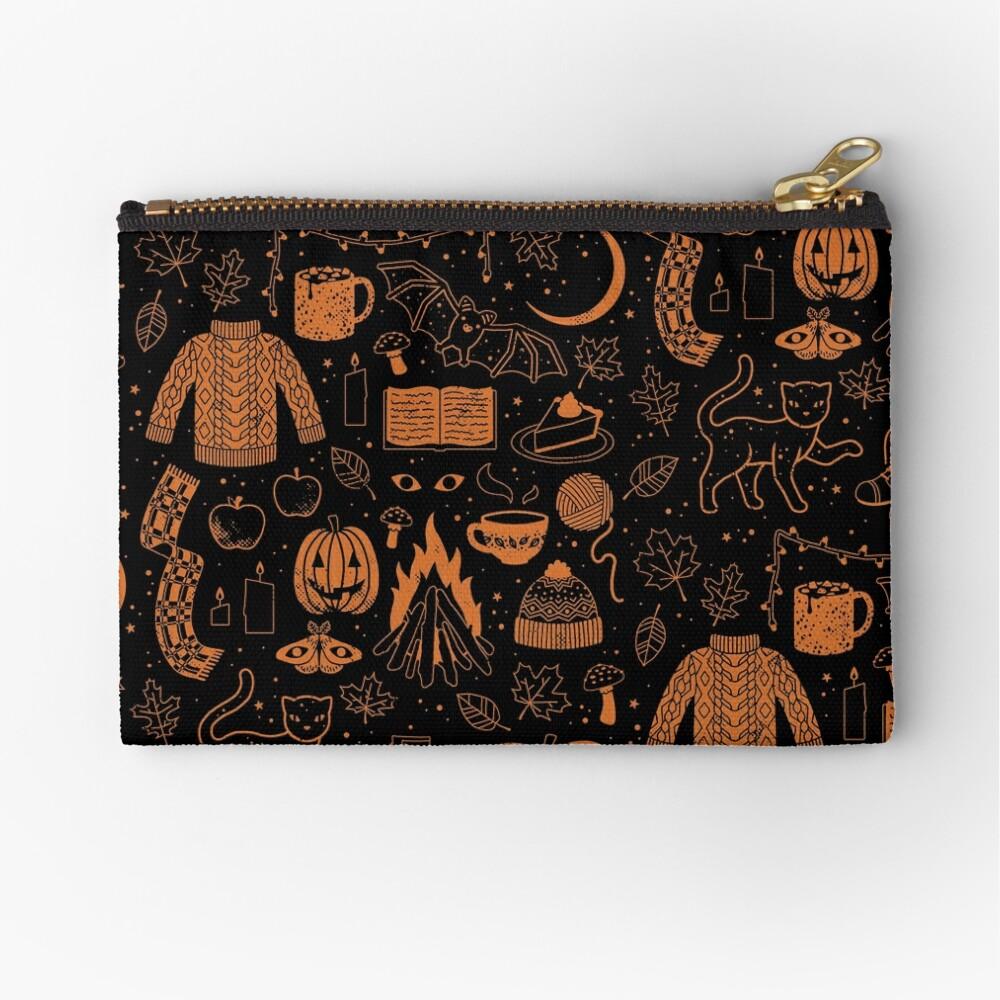 Autumn Nights: Halloween Zipper Pouch