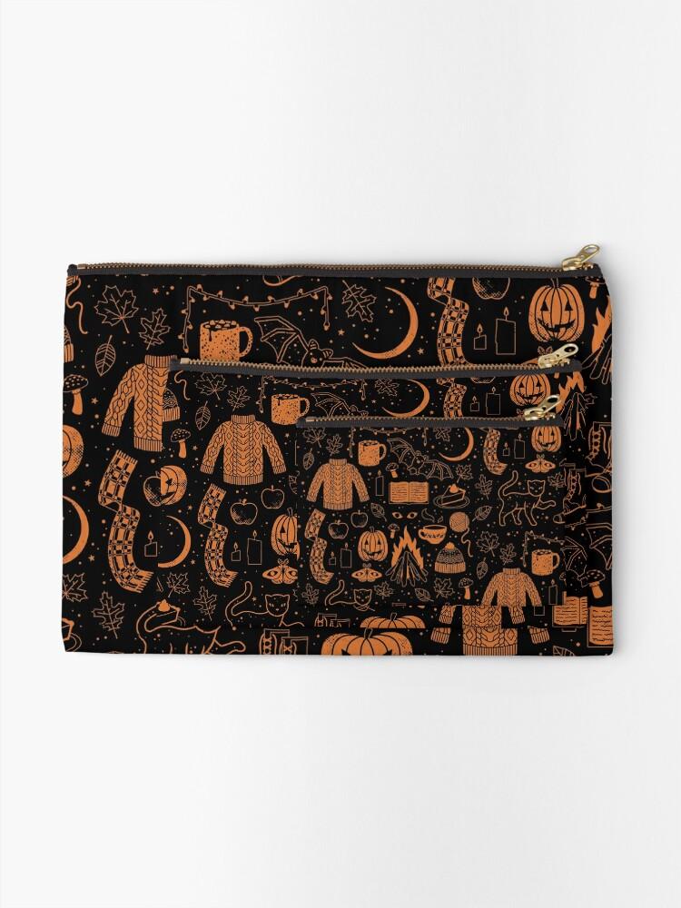 Alternate view of Autumn Nights: Halloween Zipper Pouch