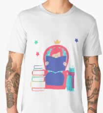 Reading is dreaming with your eyes open Men's Premium T-Shirt
